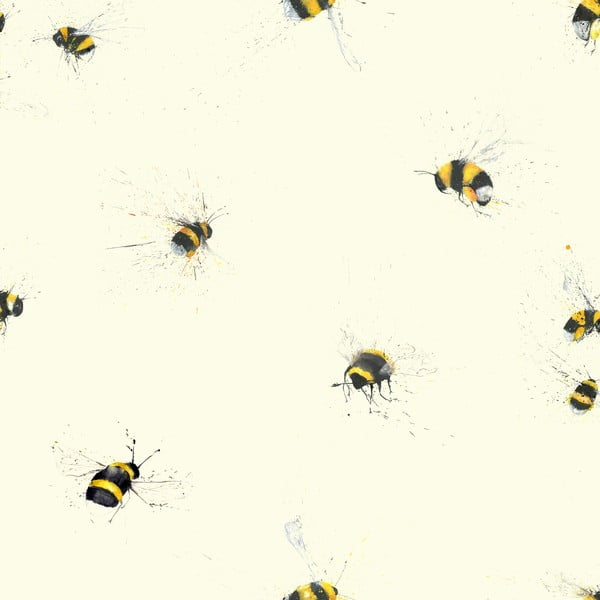 Tapetová rolka Včelky, 53x1005 cm