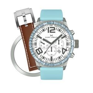Dámske hodinky Marc Coblen s remienkom a krúžkom na ciferník naviac P79