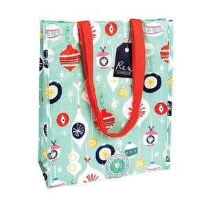 Nákupná taška s vianočným motívom Rex London Jolie