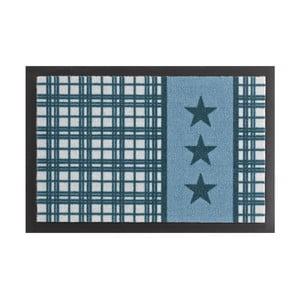 Rohožka Zala Living Star Plaid Printy Blue, 40×60 cm