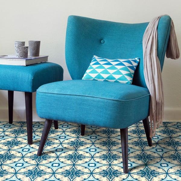 Odolný vinylový koberec Blue Sand, 120x170 cm