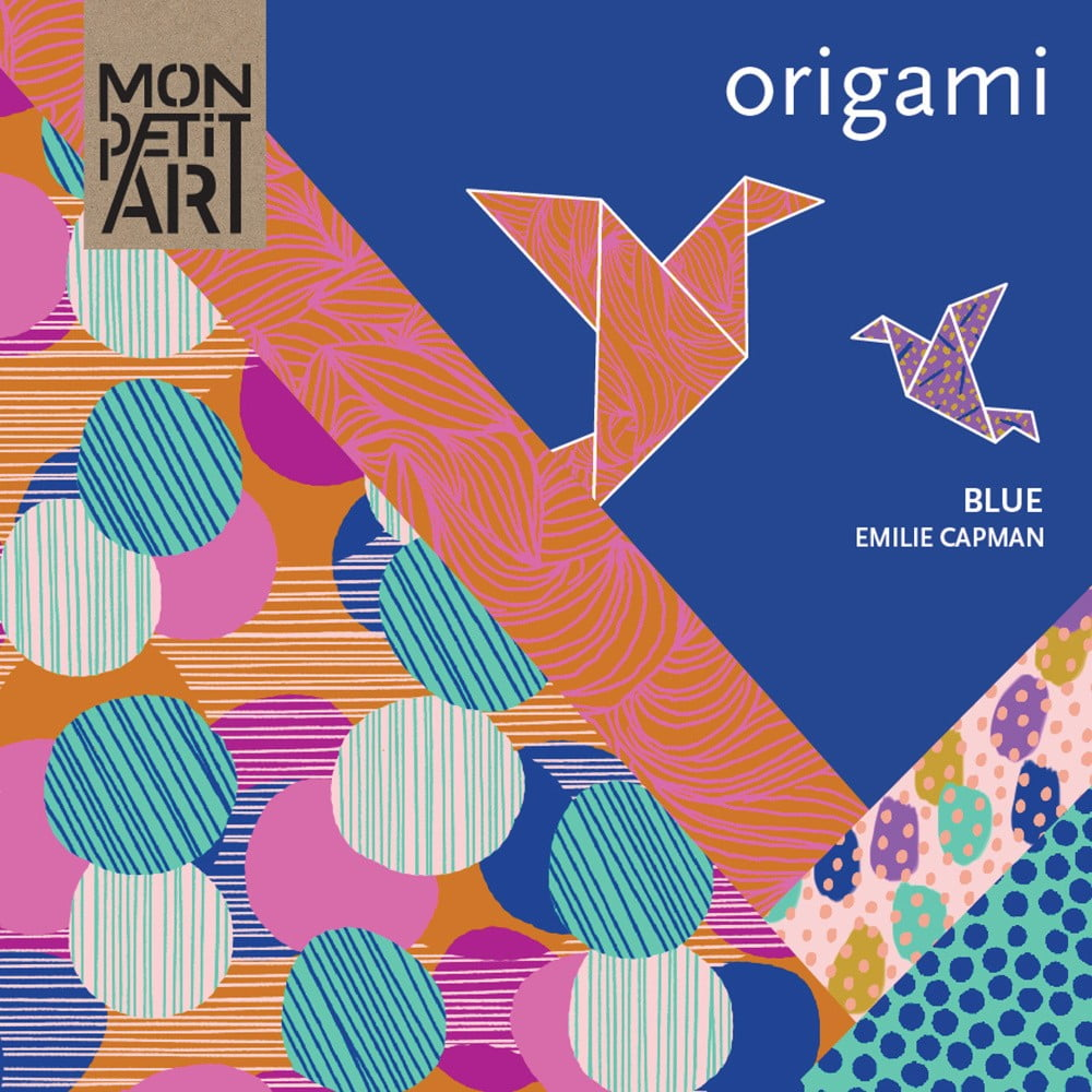 origami set mon petit art blue bonami. Black Bedroom Furniture Sets. Home Design Ideas