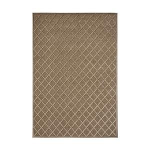 Hnedý koberec Mint Rugs Shine Karro, 200 × 300 cm