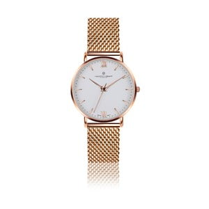 Dámske hodinky s remienkom z antikoro ocele vo farbe ružového zlata Frederic Graff Dent