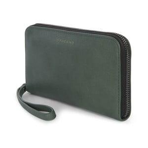 Zelená listová kabelka z talianskej kože Tucano Sicuro