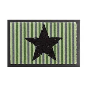 Rohožka Zala Living STar Stripes Green, 40×60 cm