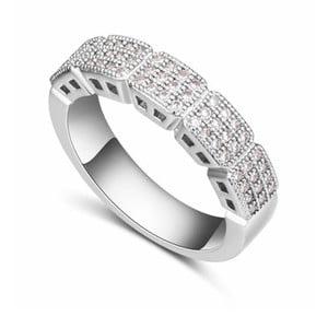 Prsteň s krištáľmi Swarovski Cortado, veľkosť 52