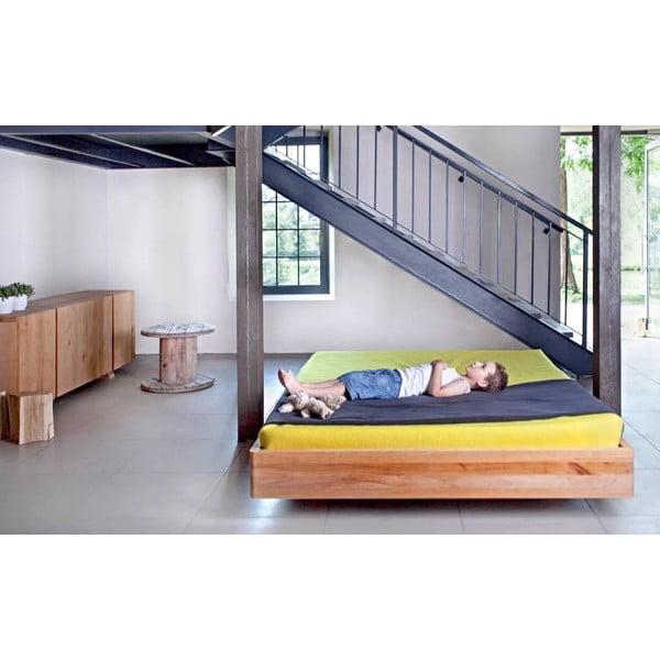 Vznášajúca sa posteľ z jelšového dreva Mazzivo Pool, 180 x 200 cm