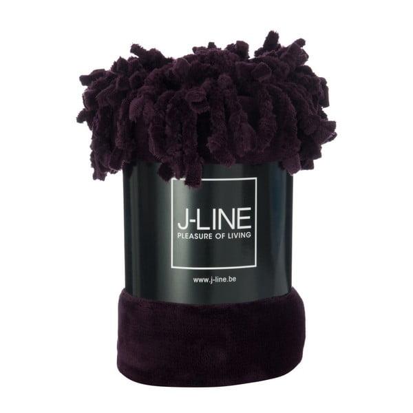 Fialová prikrývka J-Line