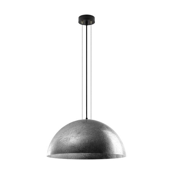 Stropná lampa Cuatro, strieborná/čierna, veľkosť XL