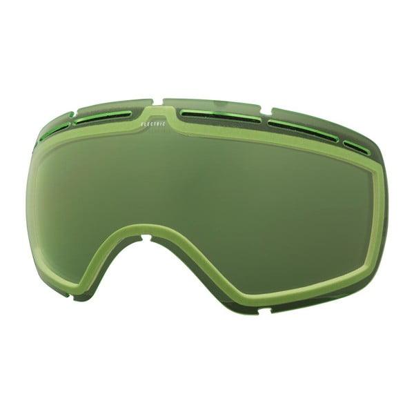 Dámske lyžiarske okuliare Electric EG25 Gloss Black - Bronze Silver, veľ. M