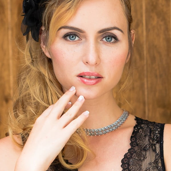 Náhrdelník s riečnymi perlami Valentinos