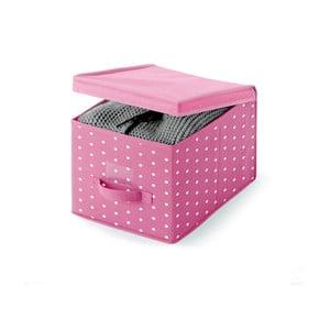 Ružový úložný box Cosatto Pinky, 45 x 30 cm