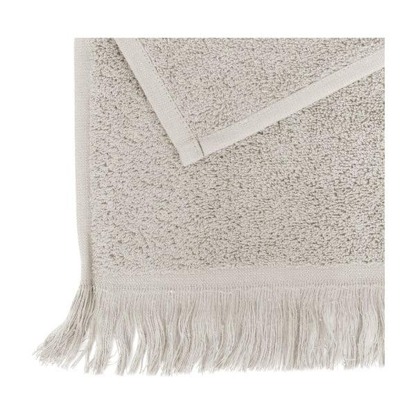 Sada 4 svetlosivých bavlnených uterákov Casa Di Bassi, 50x90 cm