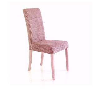 Sada 2 svetloružových jedálenských stoličiek Tomasucci Mary