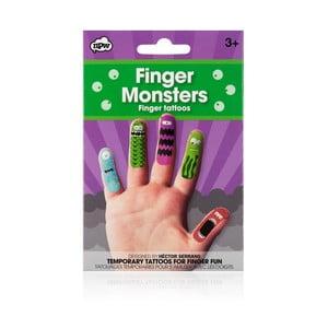 Sada tetovania na prsty npw™ Monster