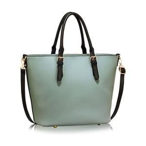 Modro-čierna kabelka L & S Bags Pamela