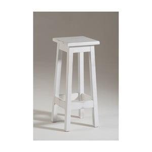 Biela drevená stolička Castagnetti Dato