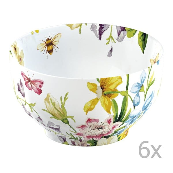 Sada 6 misiek Katie Alice English Garden Floral