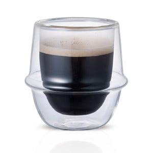 Espresso hrnček s dvojitým sklom Kinto Kronos