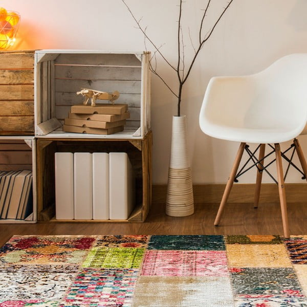 Odolný vinylový koberec Vintage Tiles, 60x100cm