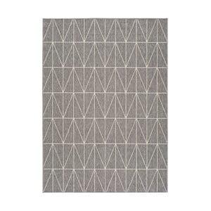 Koberec v striebornej farbe Universal Nicol vhodný i do exteriéru, 230 x 160 cm