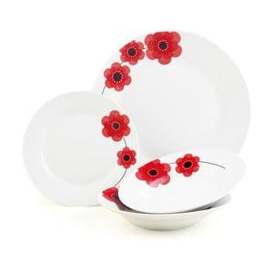Porcelánový set Indigo Poppy, 12 ks