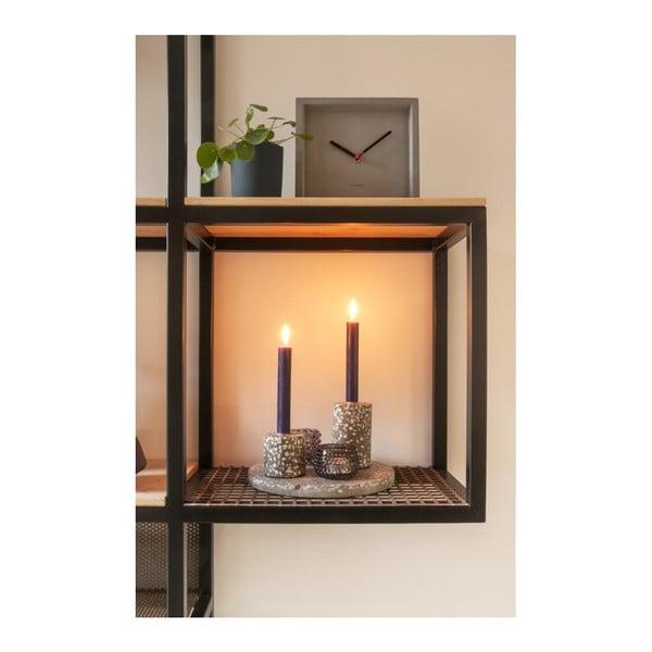 Ručne vyrábaný svietnik PT LIVING Terrazzo Deux, výška 7,5 cm