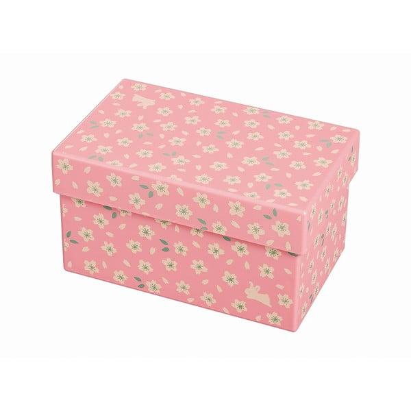 Ružový desiatový box Joli Bento Chiyo, 960ml