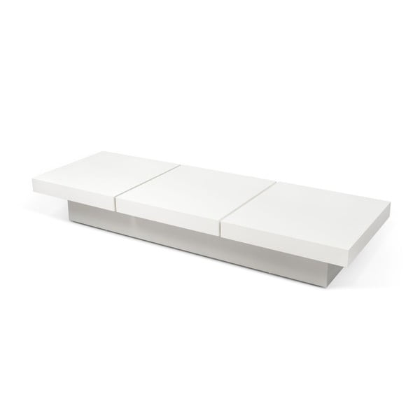Konferenčný stolík Kyoto 3 Tops White