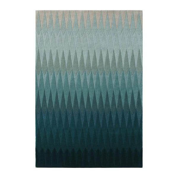 Vlnený koberec Acacia Petrol, 140x200 cm