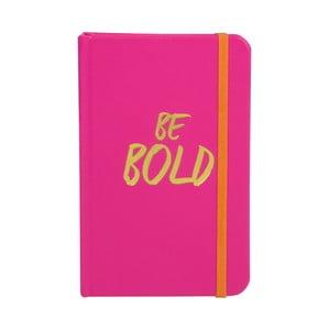 Zápisník Be Bold