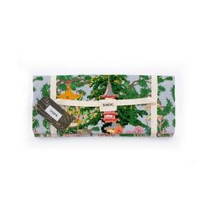 Piknik deka Surdic Manta Picnic s čínskym motívom, 170 cm