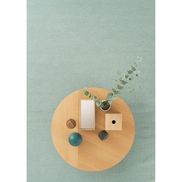 Vlnený koberec Linie Design Rainbow Pistachio, 140x200 cm