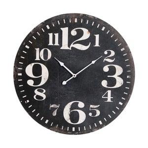 Nástenné hodiny Black Numbers