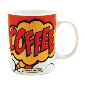 Hrnček Comic Book Coffee, 325 ml