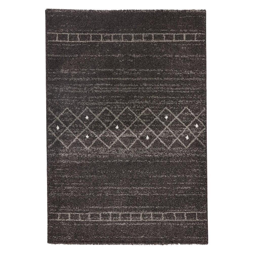 Hnedý koberec Mint Rugs Stripes, 80 x 150 cm