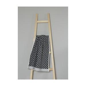 Sivý bavlnený uterák My Home Plus Spa, 50×70 cm