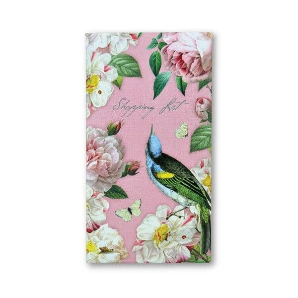 Zápisník na nákup s ceruzkou Botanique by Portico Designs, 128stránok