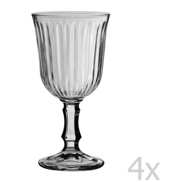 Set 4 pohárov na víno Stemmed, 180 ml