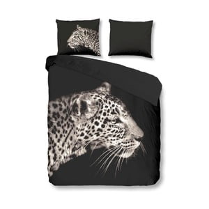 Obliečky Leopard Antracite, 140x200 cm