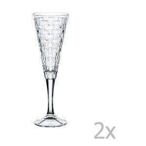 Sada 2 pohárov z krištáľového skla Nachtmann Bossa Nova, 200 ml