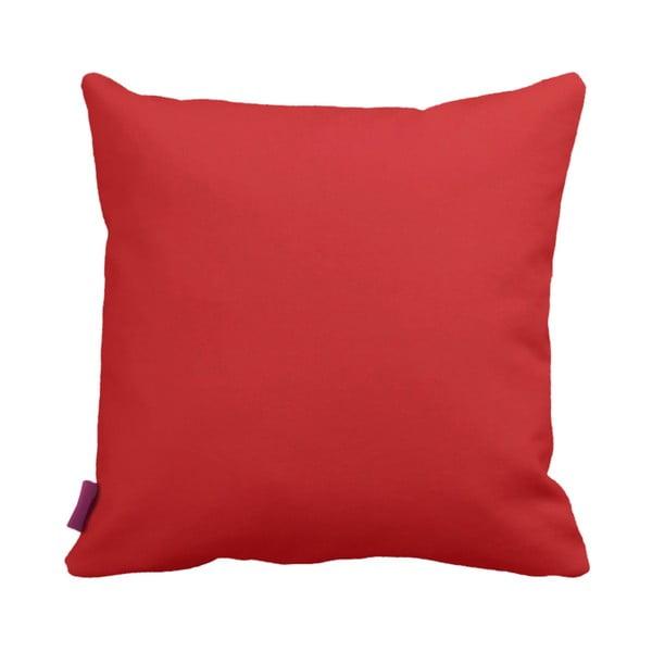 Červeno-biely vankúš Home Red, 43×43cm