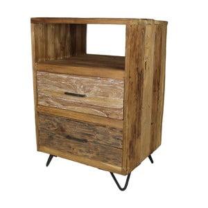 Nízka komoda z teakového dreva HSM Collection Baliaga