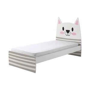 Detská posteľ Vipack Cat, 90 × 200 cm