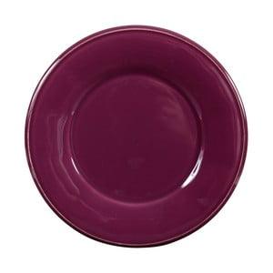 Fialový keramický dezertný tanier Côté Table Constance