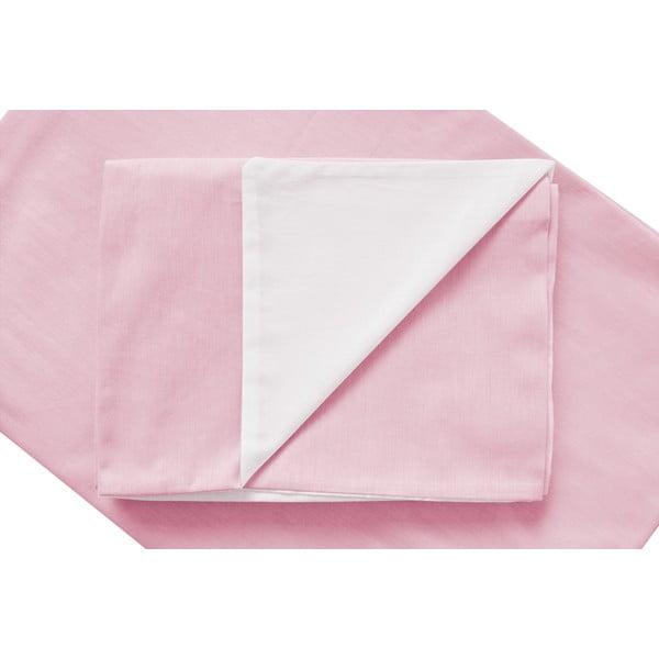 Ružové obliečky Hawke&Thorn Parker Simple, 150x200cm + vankúš 50 x 60 cm