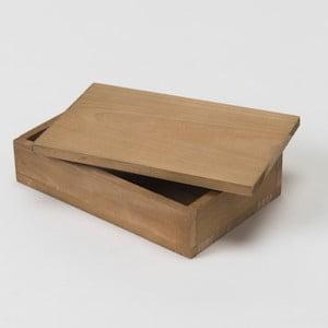 Drevený box Compactor Vintage Box, 14x9 cm