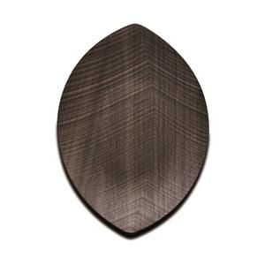 Servírovací podnos Leaf 33 cm, tmavý
