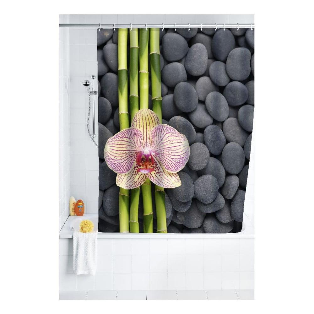 Sprchový záves Wenko Zen, 180 × 200 cm
